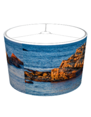 Ocean Rocks Scenic Photo Lamp Shades