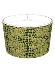 Alligator Print Lamp Shades