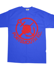 *( Pompey Frown Forgotten Identity 80s - Red On Blue