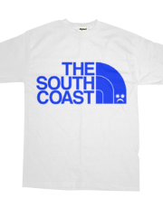 *( Pompey Frown - The South Coast - Blue On White