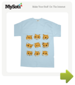 Hamsters tee by RachaelSmith. Available from MySoti.com.
