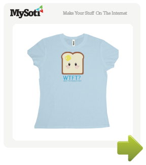 What the French, Toast? tee by Ragnazidnar. Available from MySoti.com.