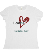 Healing Body Mind Spirit Tee