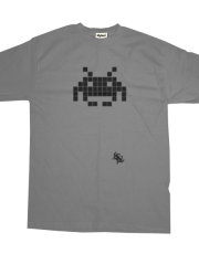 Space Invaders Clasic Black