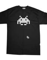 Space Invaders Clasic White