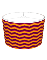 Plum Chevron Pattern