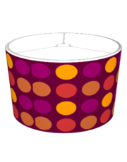 Plum Dotted Pattern