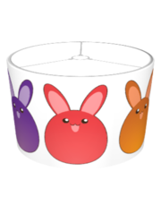 Rainbow Bunnies Lamp