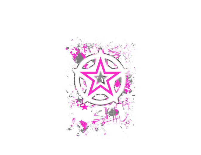 Pink Star Graphic