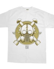 Art Deco Gasmask Crossbones