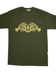 Celtic Triple Heart (yellow)