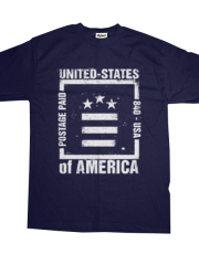 Postage Paid USA - BLUE