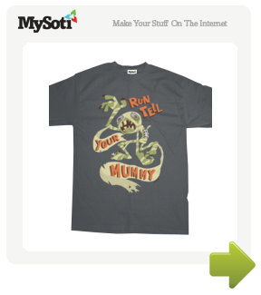 Run tell your MUMMY! tee by SACKS10. Available from MySoti.com.