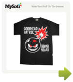 Goonhead Patrol Bomb Squad tee by SavageMonster. Available from MySoti.com.