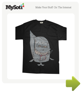 everybody's favorite killing machine tee by scottdiggs. Available from MySoti.com.