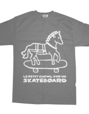 The Little Horse on a Skateboard
