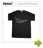 New Order - Unknown Pleasures tee by Shaolinen. Available from MySoti.com.