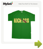 Kick Ass the movie tee by Shaolinen. Available from MySoti.com.