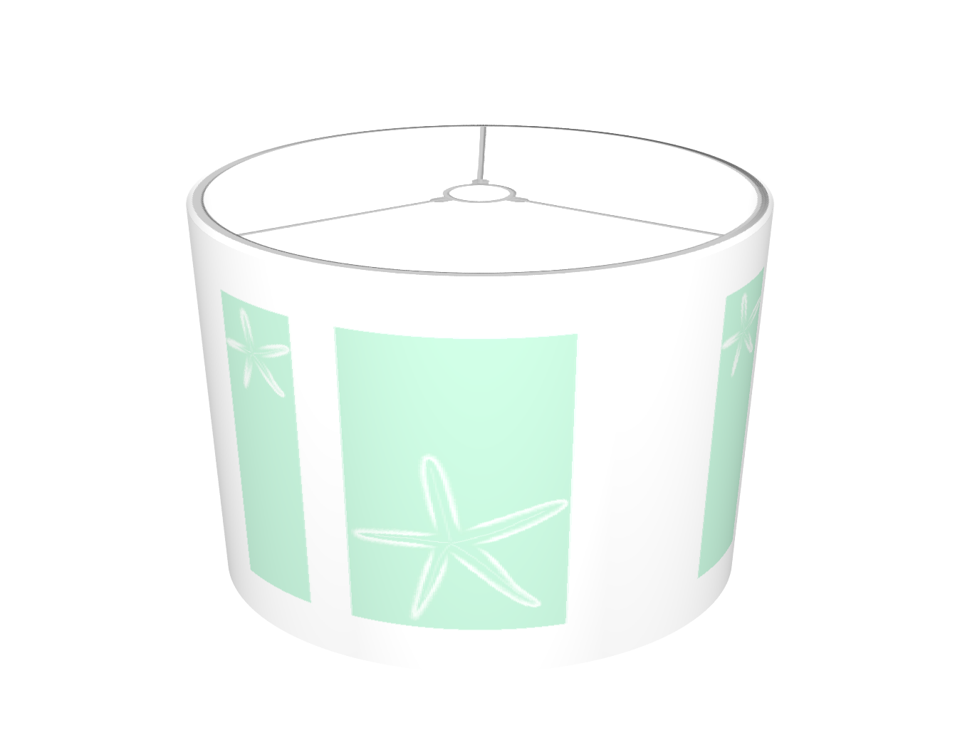 Simple Starfish (Seafoam)