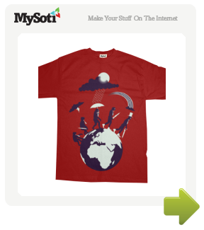 Evolutionary Gentlemen Around The World tee by SirEuan. Available from MySoti.com.