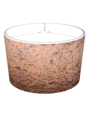 Weathered Copper Metal Look Lampshade