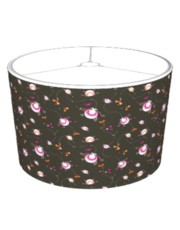 Playful Pattern Brown Lampshade