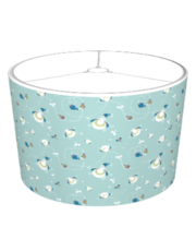 Playful Pattern Blue Lampshade