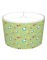 Playful Pattern Green Lampshade