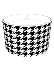 Houndstooth Lampshade