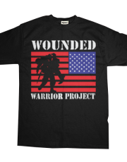 Wounded Warrior Project Us Flag