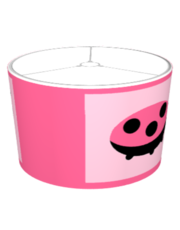 Lovely Ladybug Lampshade in Pink
