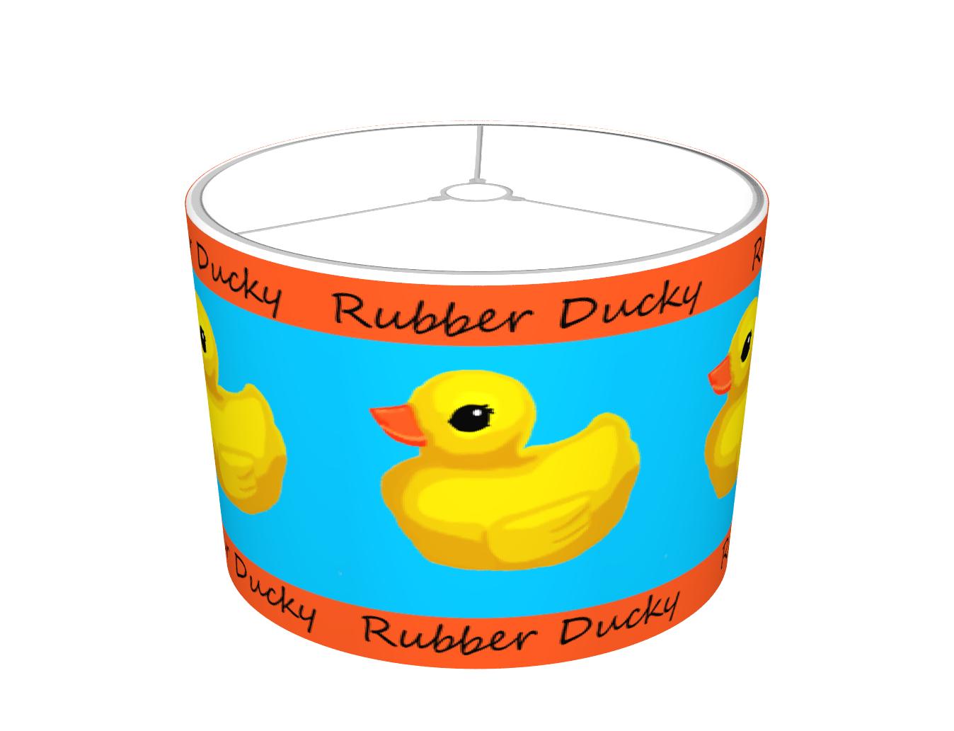 Rubber Ducky Lampshade