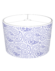 Custom Flower Paisley Shade (lavender)