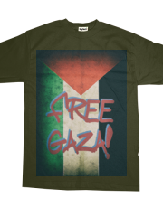 Free Gaza #1 Faded Border