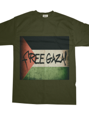 Free Gaza #2 Faded Border