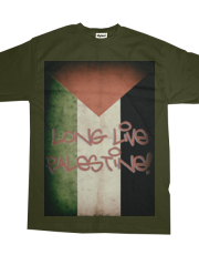 Long Live Palestine #1 Faded Border