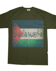 Long Live Palestine #2 Faded Border