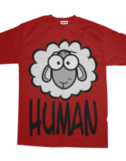 Human=Sheep. Black and White