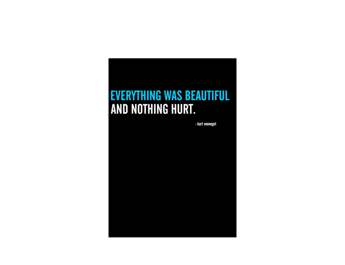 Everything was beautiful shirt