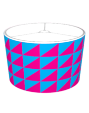 Triangulamp: Cyan & Magenta