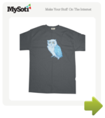 The Night Owl tee by tinasweep. Available from MySoti.com.