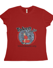 Token Skeptic Roller Derby Red