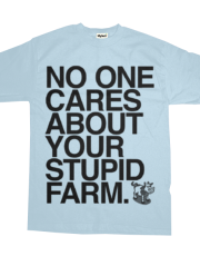 Your Stupid Farm | Hyphen Free | Black Ink