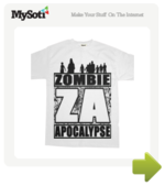 ZOMBIE APOCALYPSE tee by tywhattheeff. Available from MySoti.com.