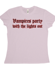 Vampires Party With The Lights Out