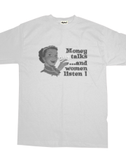 Money talks ... and women listen
