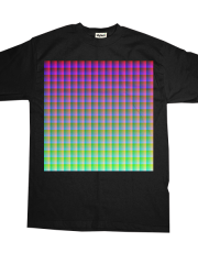 Snazzy colours tee