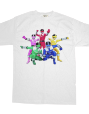 Power rangers tee