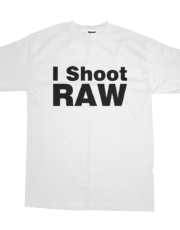I Shoot RAW (light color version)